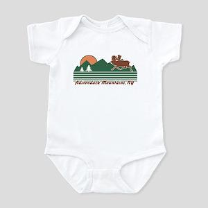 Adirondack Mountains NY Infant Bodysuit