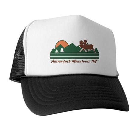 Adirondack Mountains NY Trucker Hat