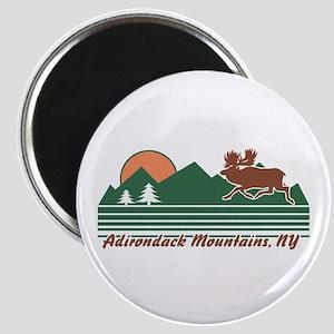 Adirondack Mountains NY Magnet