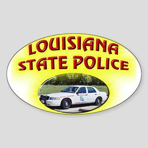 Louisiana State Police Sticker (Oval)