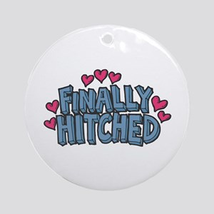 Finally Hitched Ornament (Round)