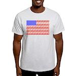 Foal Flag Ash Grey T-Shirt