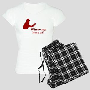 Where My Hose At Women's Light Pajamas