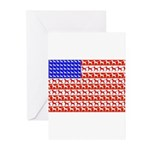 Foal Flag Greeting Cards (Pk of 10)