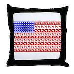 Foal Flag Throw Pillow