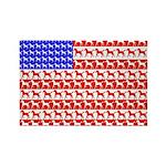 Foal Flag Rectangle Magnet (100 pack)