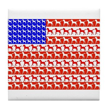 Foal Flag Tile Coaster