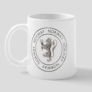 Vintage Norway Mug