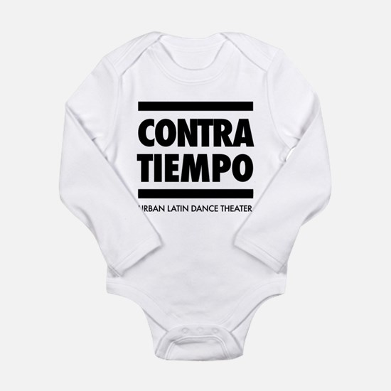 CONTRA-TIEMPO Long Sleeve Infant Bodysuit