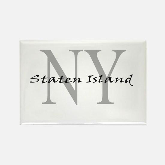 Staten Island Rectangle Magnet