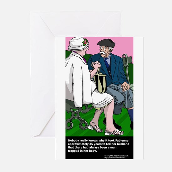 Relationships and sex Greeting Cards (Pk of 10)