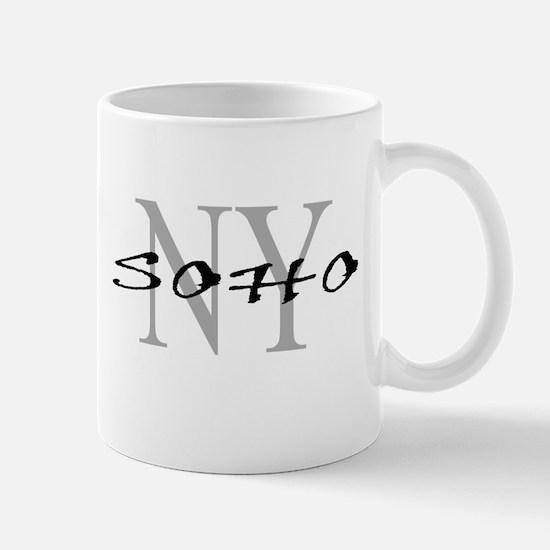SOHO thru NY Mug