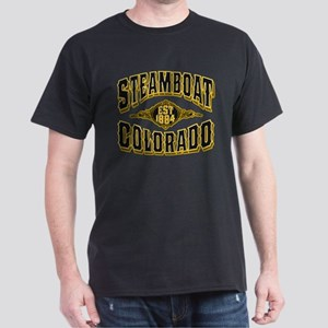 Steamboat Colorado Old Gold Dark T-Shirt