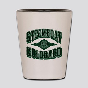 Steamboat Colorado Money Shot Shot Glass