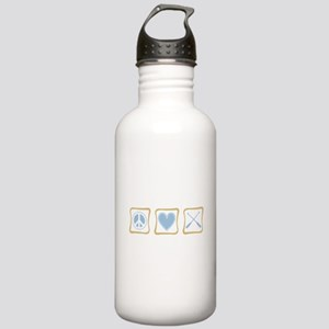 Peace, Love and Rowing Stainless Water Bottle 1.0L