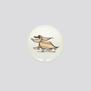 Afghan Hound Lover Mini Button