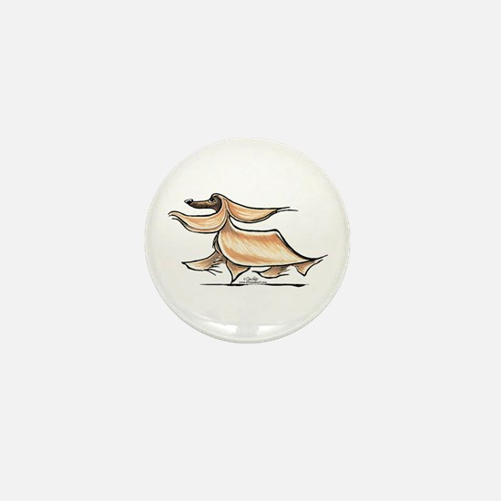 Afghan Hound Lover Mini Button