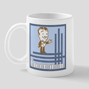 Art Deco Groomsman Mug