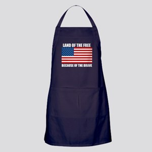 Because of the Brave Apron (dark)