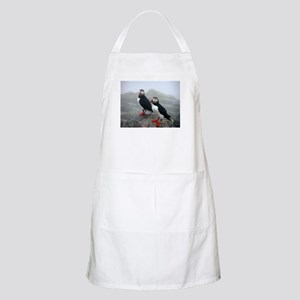 Puffins Keeping Watch Apron