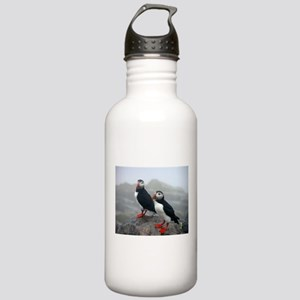 Puffins Keeping Watch Stainless Water Bottle 1.0L