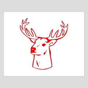 Deer Mount Small Poster