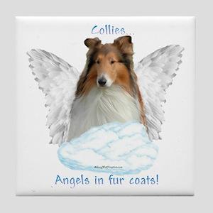 Collie 5 Tile Coaster