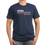 Slide Guitarists Don't Fret Men's Fitted T-Shirt (