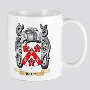 Bates Family Crest - Bates Coat of Arms Mugs