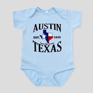 Austin, Texas Infant Bodysuit