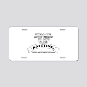 There Are More Things In Li Aluminum License Plate