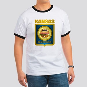 """Kansas Gold"" Ringer T"