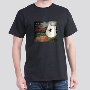 """Why God Made Dogs"" Samoyed Dark T-Shirt"