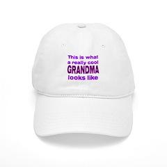 Really Cool Grandma Looks Lik Baseball Cap