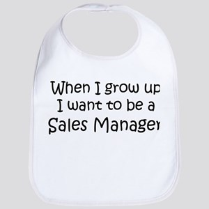 Grow Up Sales Manager Bib