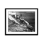 USS McGOWAN Framed Panel Print