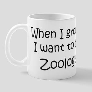 Grow Up Zoologist Mug