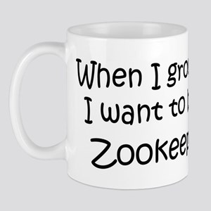 Grow Up Zookeeper Mug