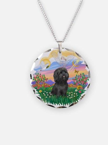 Guardian-ShihTzu#21 Necklace Circle Charm