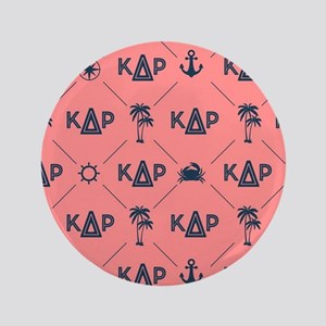KDR Coral Pattern Button