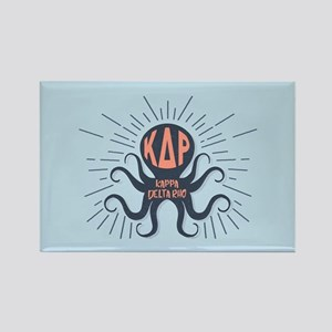 Kappa Delta Rho Octopus Rectangle Magnet