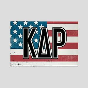Kappa Delta Rho Flag Rectangle Magnet