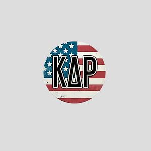 Kappa Delta Rho Flag Mini Button