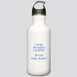 Proud Indie Author Stainless Water Bottle 1.0L