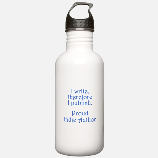 Proud Indie Author Water Bottle