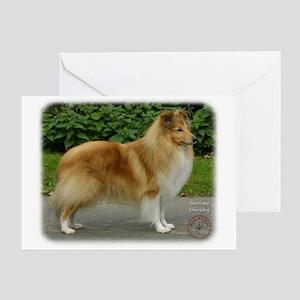 Shetland Sheepdog 9T002D-083 Greeting Card