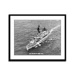 USS McKEAN Framed Panel Print