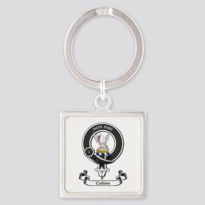 Badge-Cullen Square Keychain