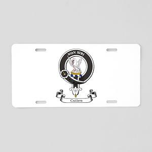 Badge-Cullen Aluminum License Plate