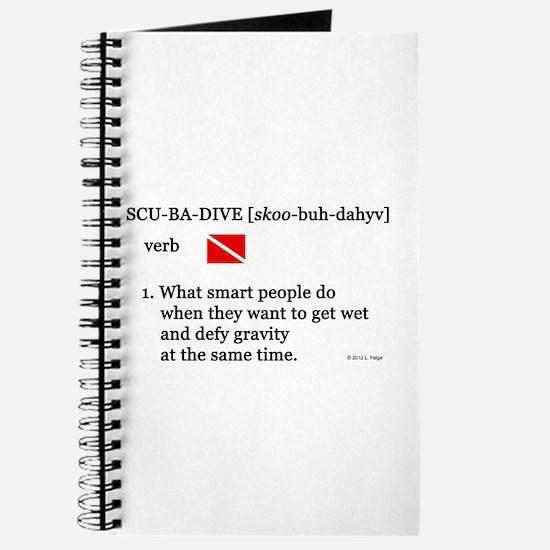 Scuba-Dive Definition Journal